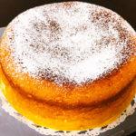 爽やかな香りの レモンケーキ
