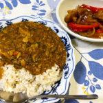 サバ缶と残り野菜のカレー